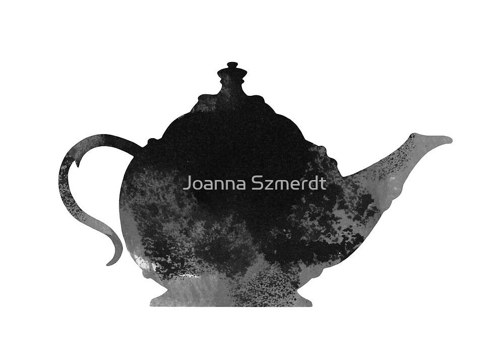 Teapot kitchen decor by Joanna Szmerdt