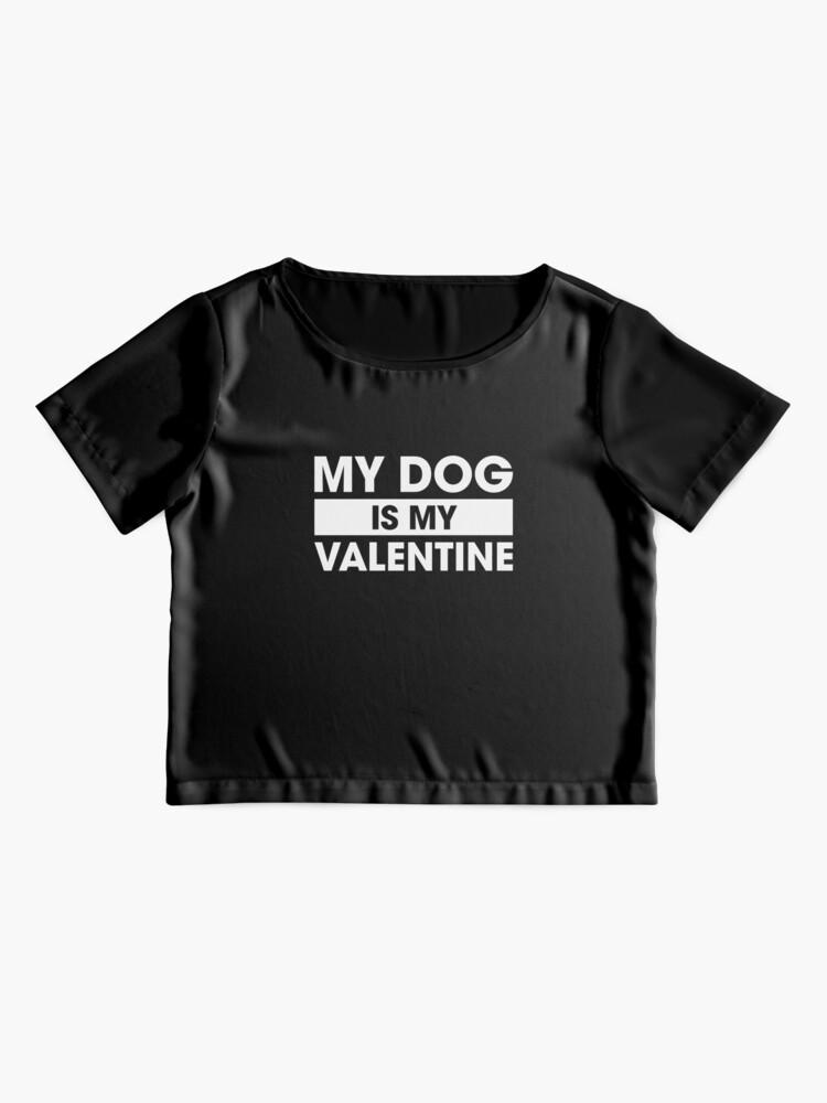 Vista alternativa de Blusa El perro es mi san valentin