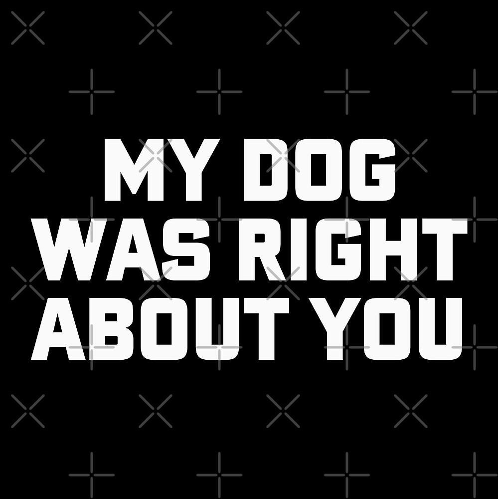 «El perro tenía razón sobre ti» de DJBALOGH