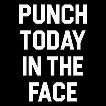 Ponche hoy en la cara de DJBALOGH