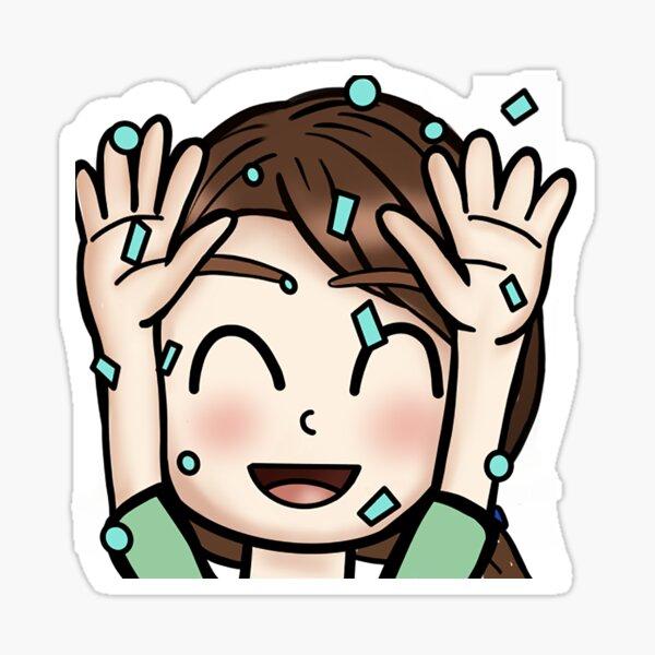 Twitch Emote - Hype Sticker