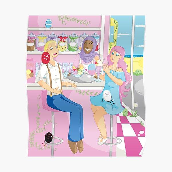 Companions - Ice Cream Parlour Poster