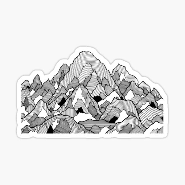 Illustration 09ST13 Sticker