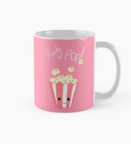 Funny Expecting card - Ready to Pop - Funny Pregnant - Pregnancy - Baby Shower - Gift - Popcorn Pun - Funny expectant mom mum Mug