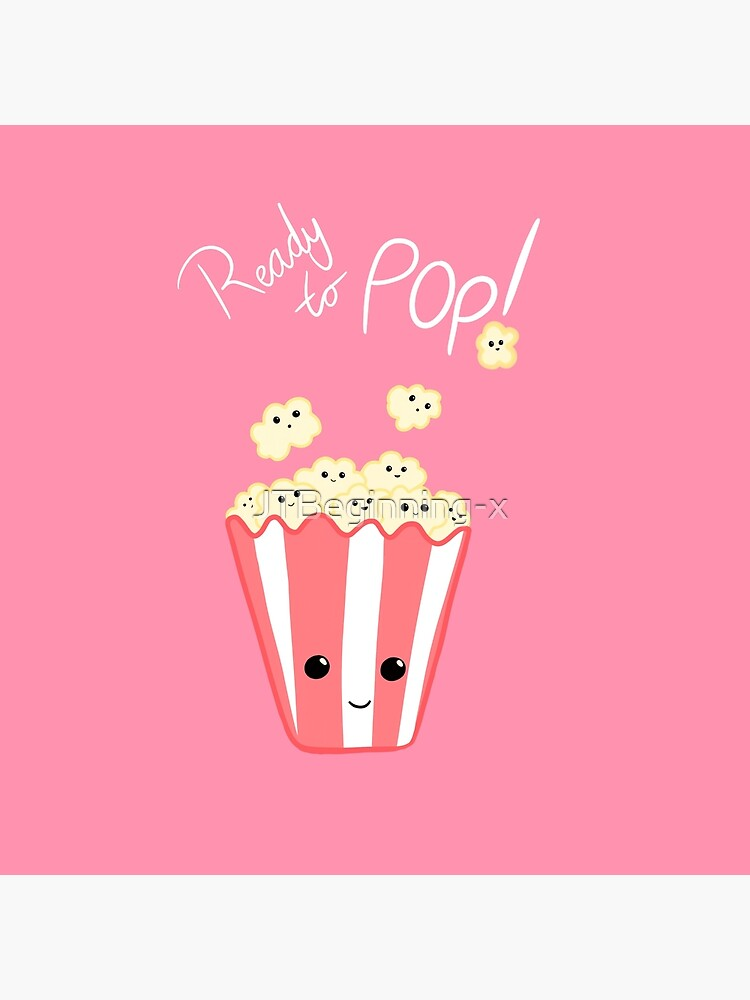 Funny Expecting card - Ready to Pop - Funny Pregnant - Pregnancy - Baby Shower - Gift - Popcorn Pun - Funny expectant mom mum by JTBeginning-x