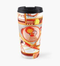 Economies of Scale, Ink drawing Travel Mug