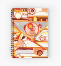 Economies of Scale, Ink drawing Spiral Notebook