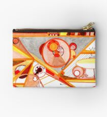 Economies of Scale, Ink drawing Zipper Pouch
