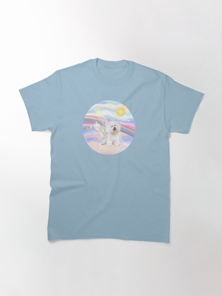Alternate view of Bichon Frise (#1) in Heavens Clouds Classic T-Shirt