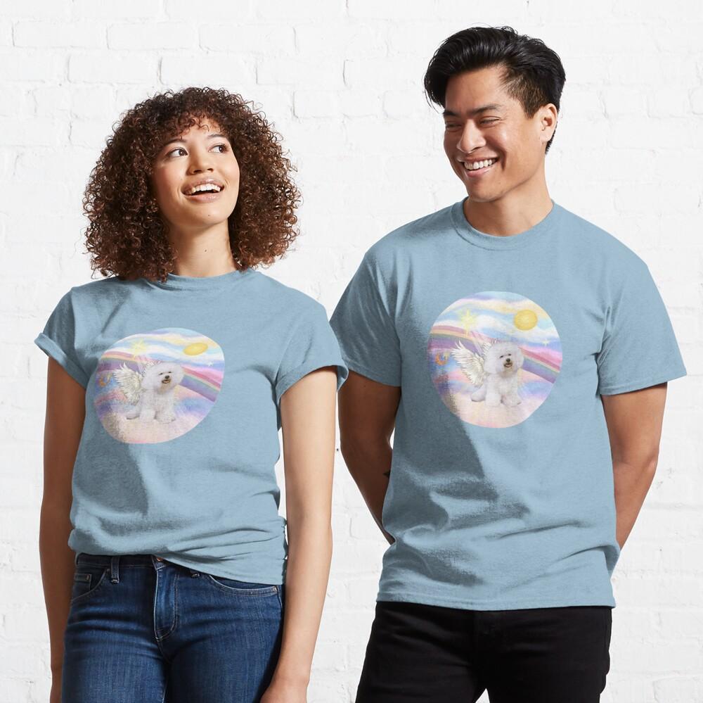 Bichon Frise (#1) in Heavens Clouds Classic T-Shirt