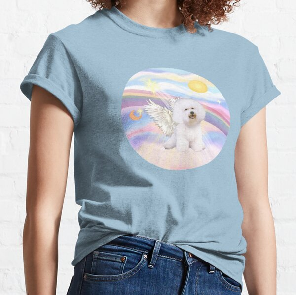 Bichon Frise (#1) in Heavens Clouds Classic T-Shirt