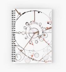 Watch City, Ink drawing Spiral Notebook