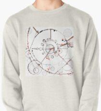 Watch City, Ink drawing Pullover Sweatshirt