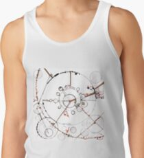 Watch City, Ink drawing Tank Top