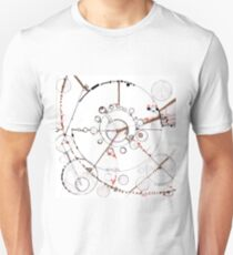Watch City, Ink drawing Slim Fit T-Shirt