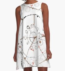 Watch City, Ink drawing A-Line Dress
