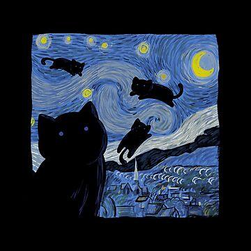 Die Sternenkatzennacht von tobiasfonseca