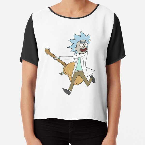 Tiny Rick! Chiffon Top