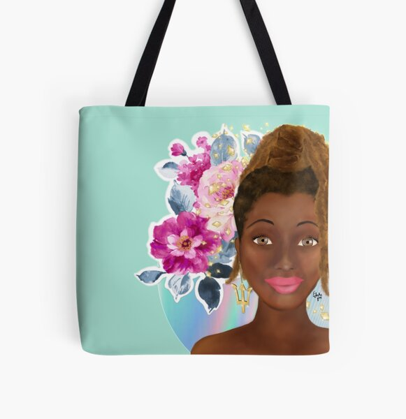 Bajan beauty (b) All Over Print Tote Bag