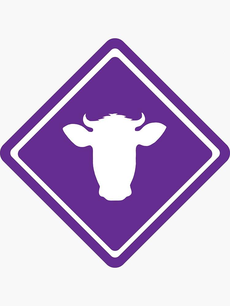 Cow Crossing by tanacheye