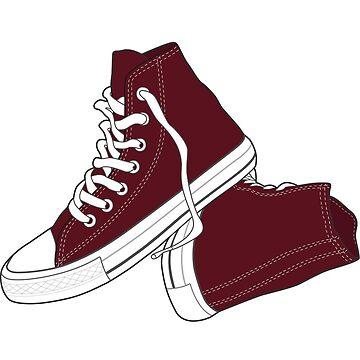 Zapato Marrón Popular Retro Vintage de tlaprise