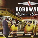 Borgward 1941 car and truck advertisement by edsimoneit
