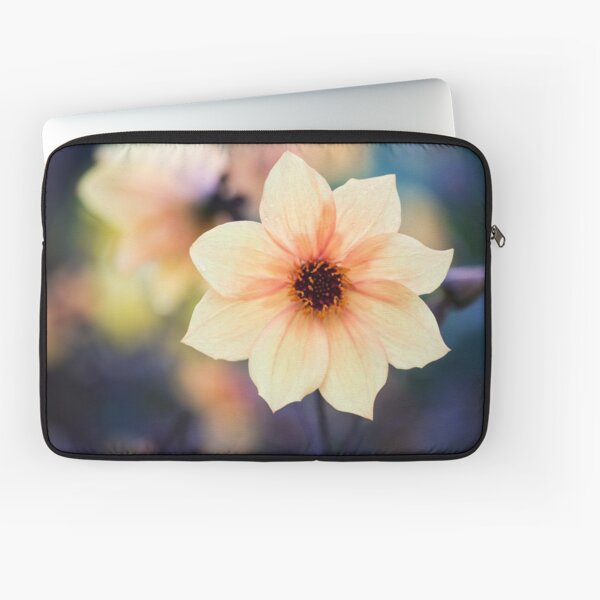 Yellow Summer Flower Laptop Sleeve