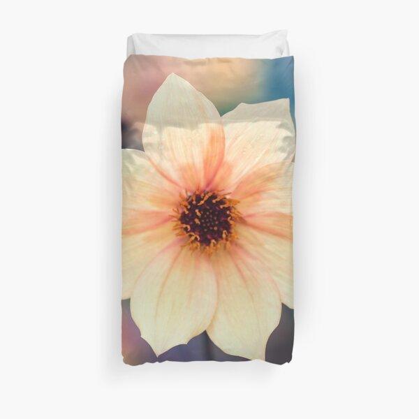 Yellow Summer Flower Duvet Cover