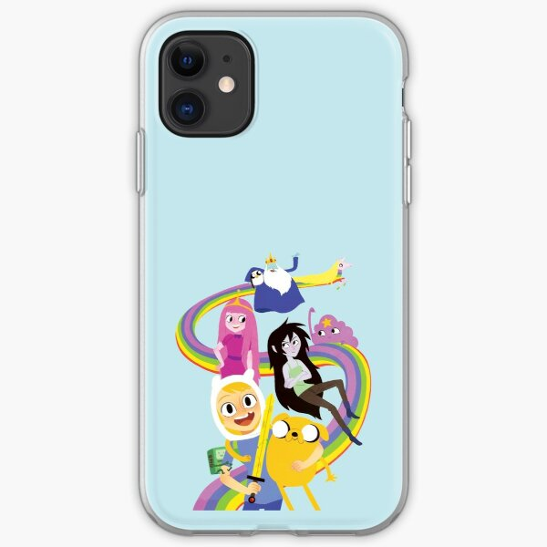 Adventure Time Group Design iPhone Soft Case