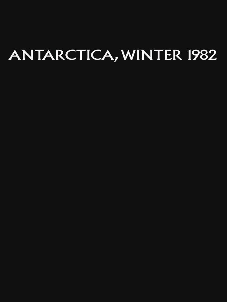 The Thing | Antarctica, Winter 1982 by directees