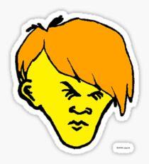 Youth(orange hair) Sticker