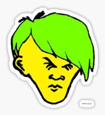 Youth(green yellowy hair) Sticker