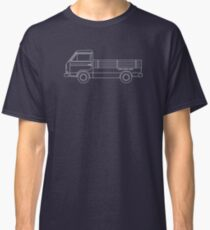 VW T3 Single Cab Blueprint Classic T-Shirt