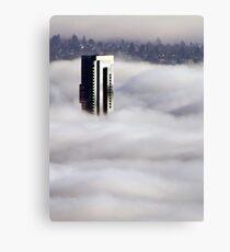 Shangri-La In The Fog Canvas Print