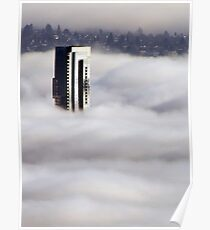 Shangri-La In The Fog Poster