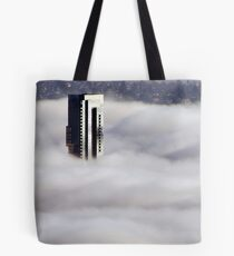 Shangri-La In The Fog Tote Bag