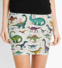 Minifalda Dinosaurios brillantes