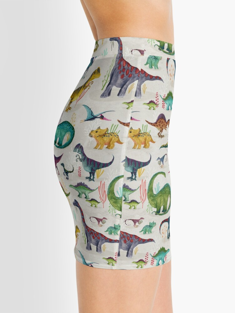 Alternate view of Bright Dinosaurs Mini Skirt