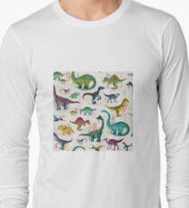 Bright Dinosaurs Long Sleeve T-Shirt