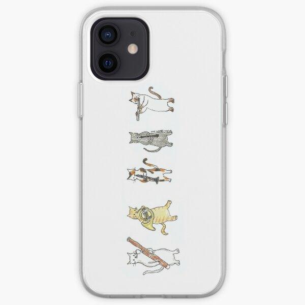 Wind Meowtet II iPhone Soft Case