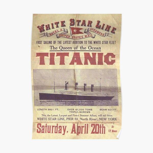 Póster Titanic Póster