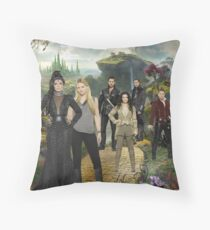 Once Upon a Time in Oz Throw Pillow