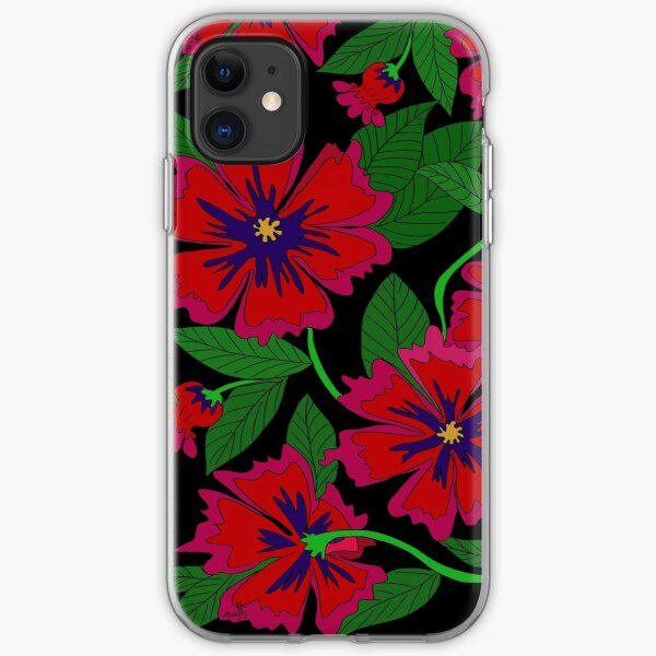 Red Poppy iPhone Soft Case