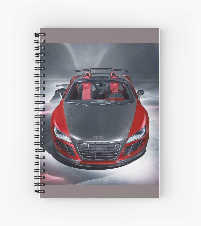 Nice car  notebook by Ilovebronys