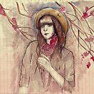 Cherry Blossom girl by smilebanh