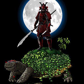 Samurai Turtle de albertocubatas