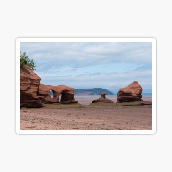 Blomidon and the Stacks Sticker