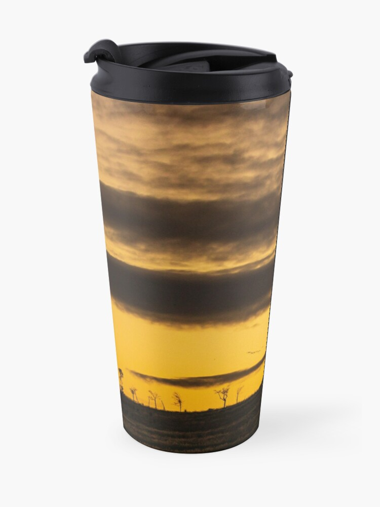 Alternate view of Cloudy Sunrise in South Africa Travel Mug