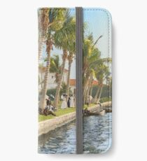 Watching the boat races, Palm Beach, Florida 1906 iPhone Wallet/Case/Skin