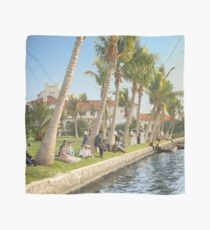 Watching the boat races, Palm Beach, Florida 1906 Scarf